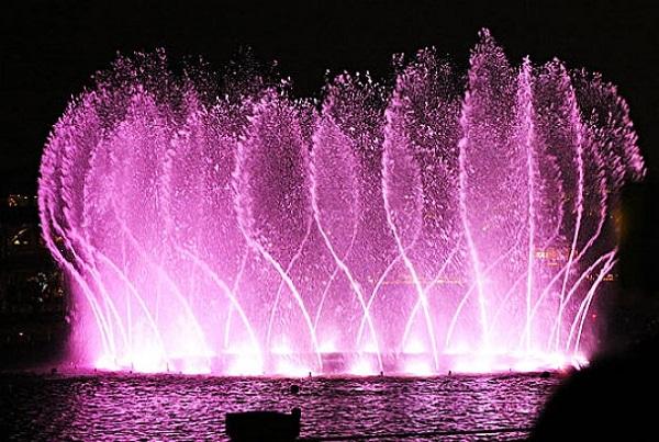 喷泉设计中存在的问题