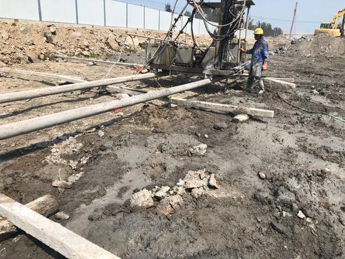 四川高壓旋噴樁用于公路施工的流程