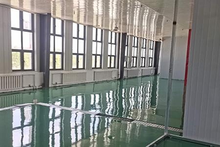 广河食品车间树脂环氧地坪