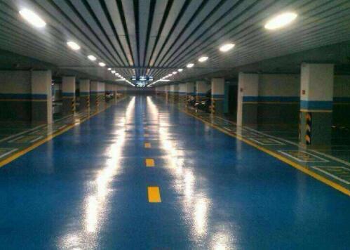 地下车库环氧地坪漆的使用方法