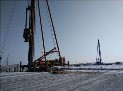 预制桩机新疆地基基础施工