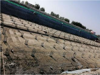旭尚鸿承建的霍尔果斯污水处理厂后插筋项目成果展示