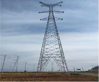 旭尚鸿承建的国家电网五家渠千伏改造项目塔基础工程成果展示