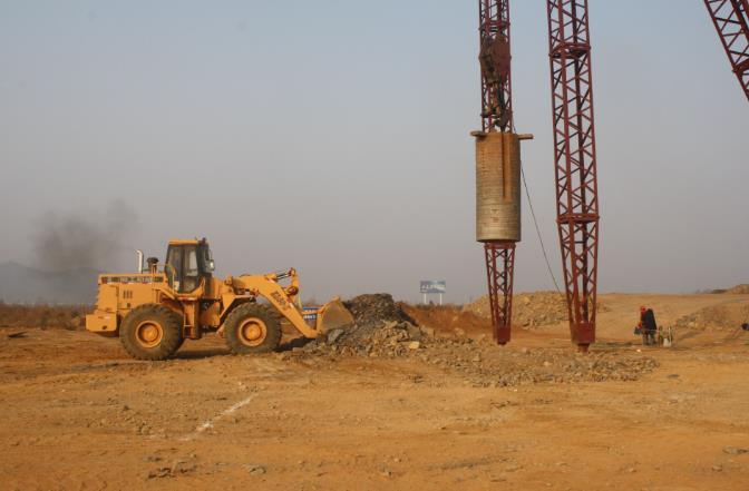 强夯地基施工工艺标准与技术要求如下: