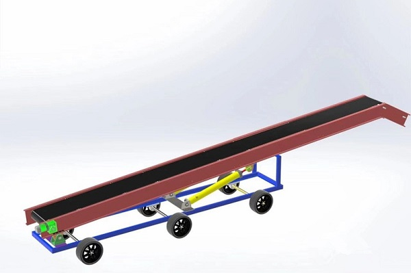 皮帶輸送機承載托輥在運行中發揮著那些作用?