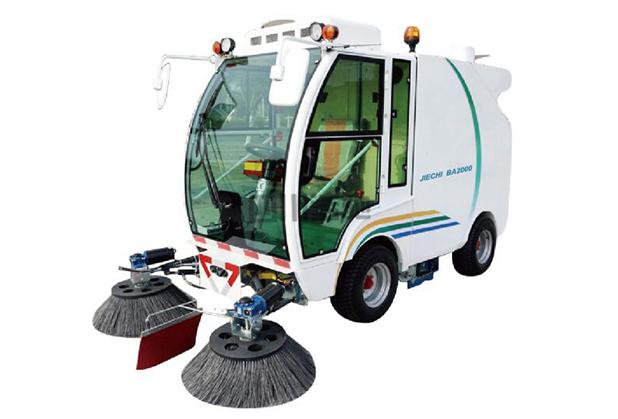 封闭式驾驶式扫地机BA2000