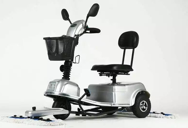 四川清洁设备-长风C903-A 尘推车
