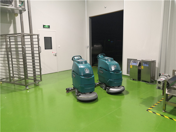 四川川娃子食品公司整体厂区采购手推式洗地机A3   驾驶式扫地机BA1400