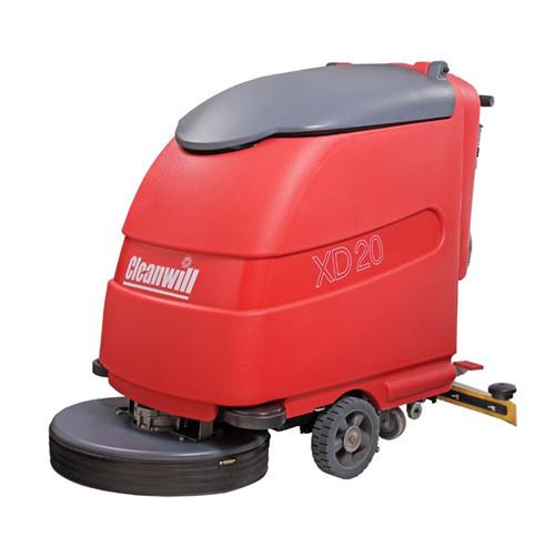 成都手推式洗地机在清理全过程中,有什么特点?