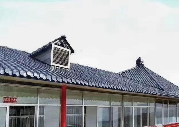 树脂瓦作为新型屋面材料的代表,多 个自身特点不可否认!