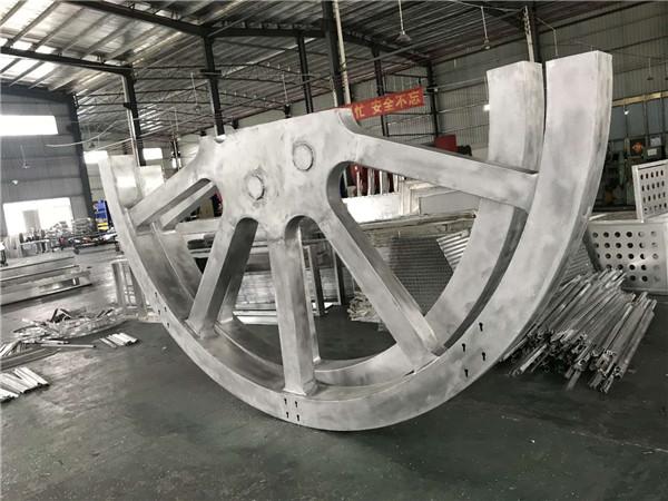 圆弧铝单板生产