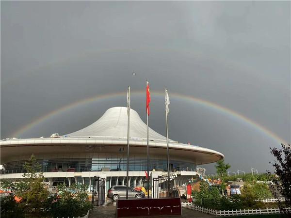 榆林市职业技术学校体育馆