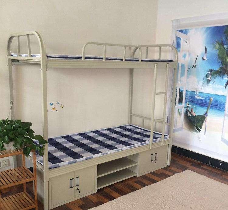 学生公寓上下床从发货到安装,又快又稳!客户很满意