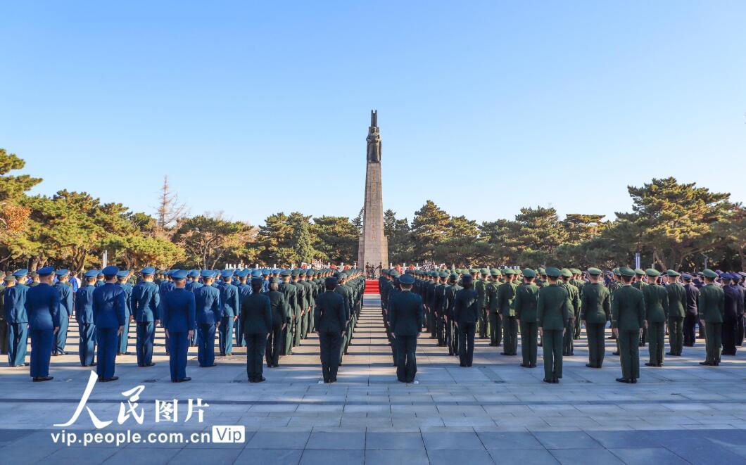 沈阳举行纪念中国人民志愿军抗美援朝出国作战70周年活动