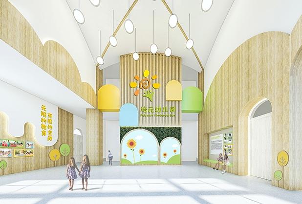 成都学校大厅设计
