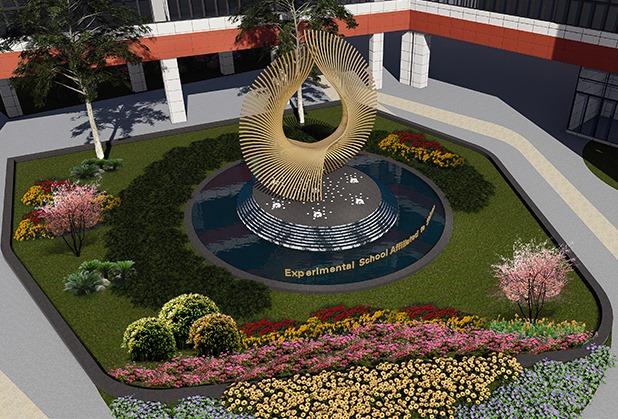 成都校园景观设计