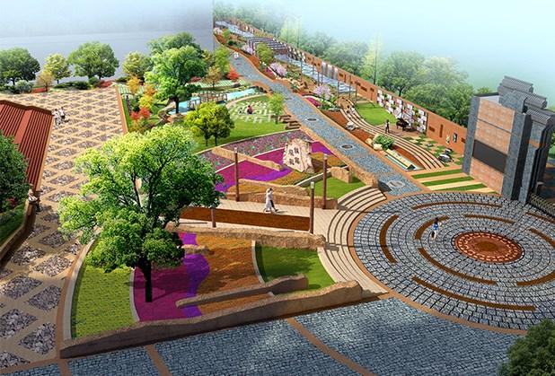 成都校园景观工程设计