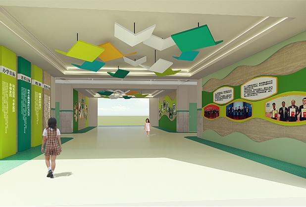 成都校园文化墙设计