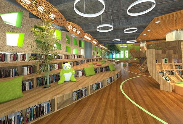 成都图书馆功能空间设计