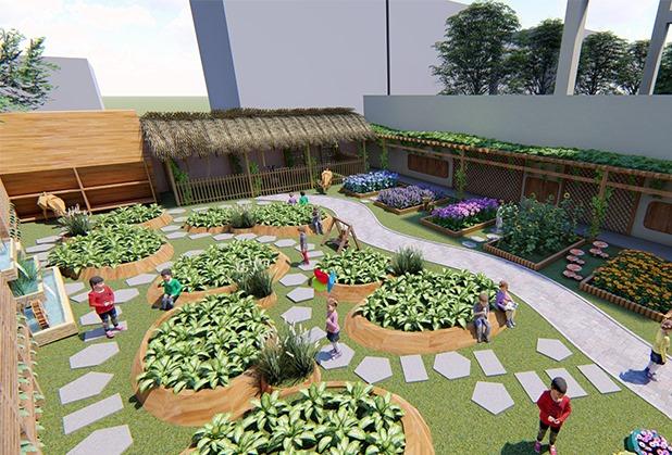 成都幼儿园景观设计