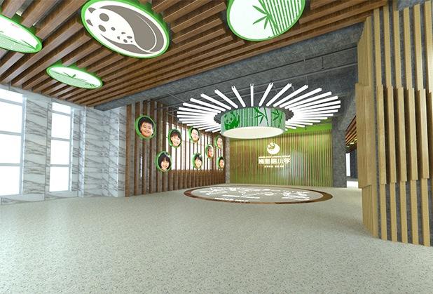 成都学校大厅设计装修