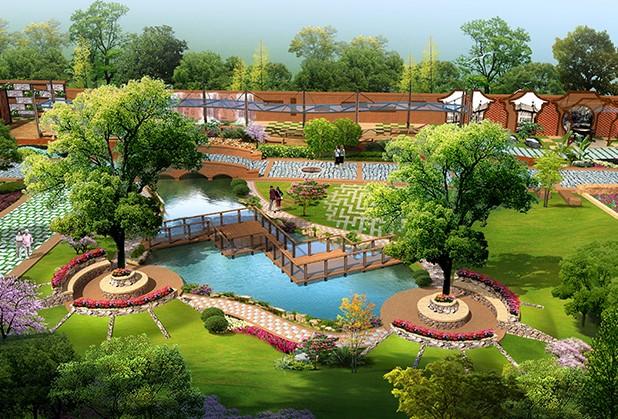 成都中学校园景观设计