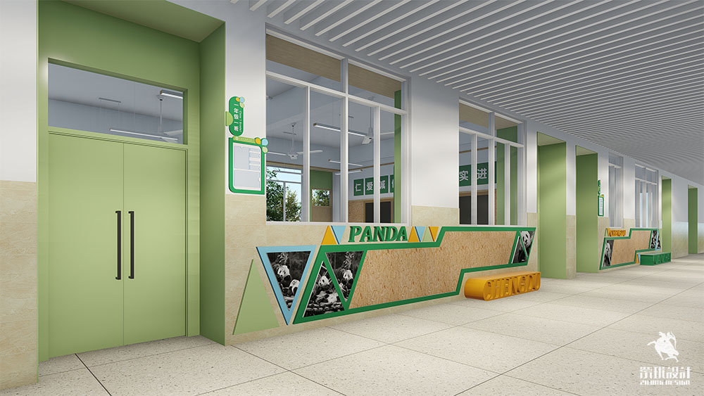 走心的学校廊道文化设计,给孩子更多可能!