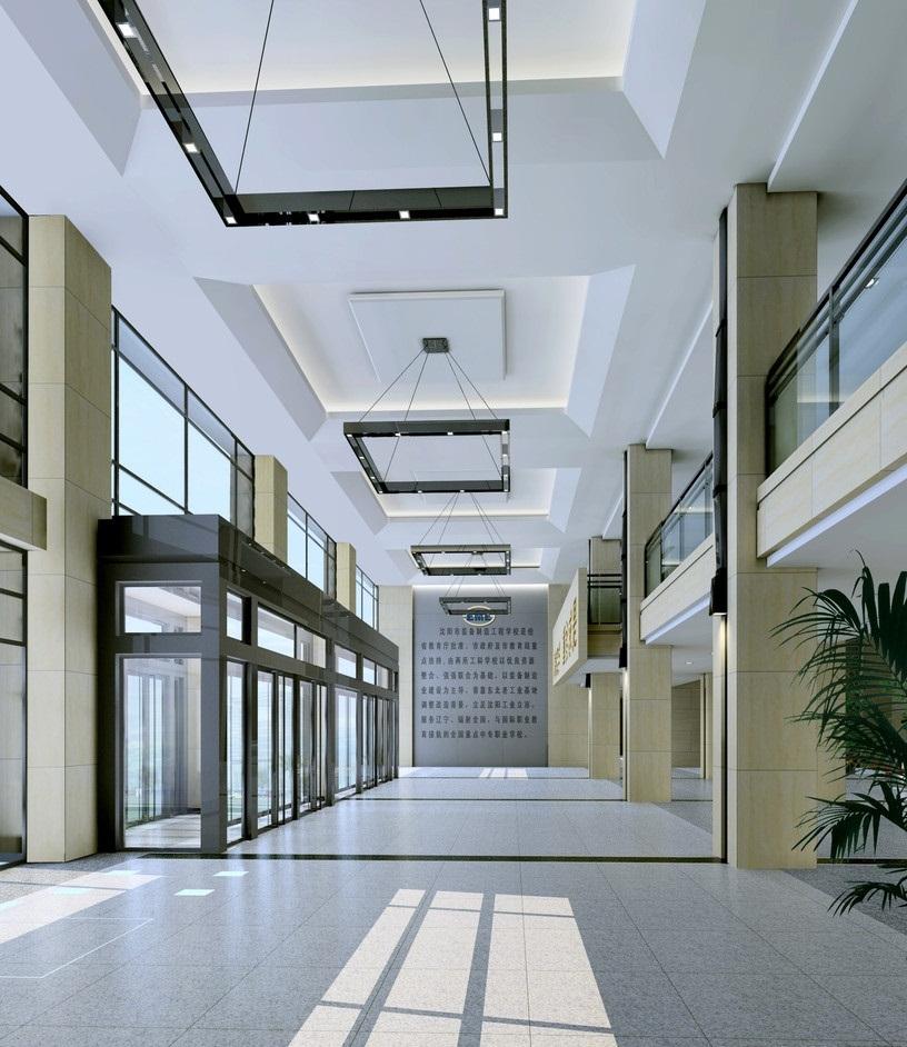 学校大厅设计
