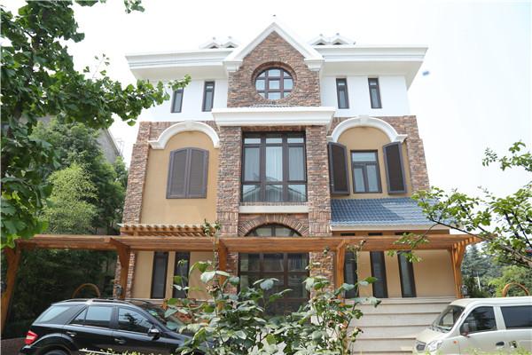 铝包木门窗 铝木复合门窗