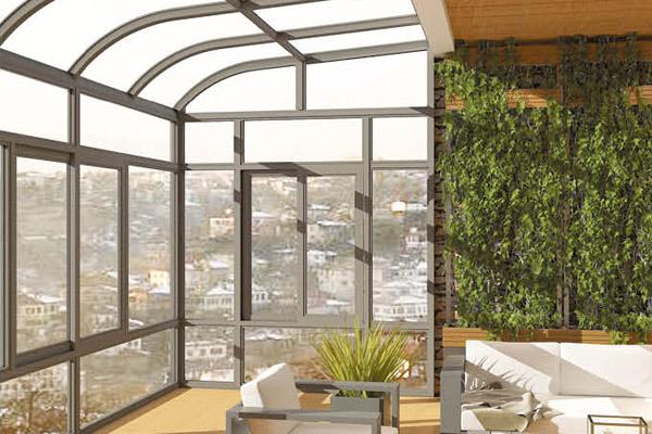 断桥铝型材适合建造阳光房吗?