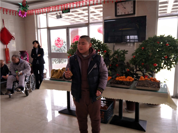 新春佳节欢庆多 恩光之家过大年