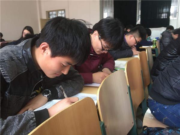要学习,这才是考研自习室应该有的样子