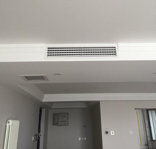 居家安装宜昌中央空调出风口,需要根据不同位置采用安防方法
