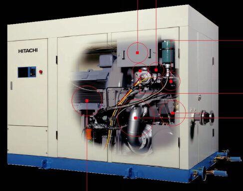 SDS無油式螺杆壓縮機