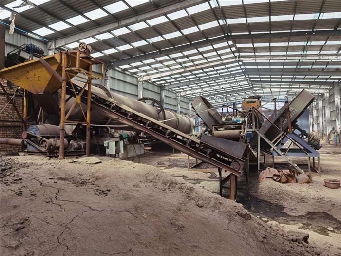 内蒙古发酵羊粪有机肥生产厂区