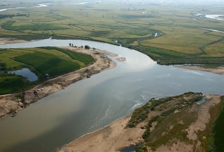 行洪论证与河势稳定性评价