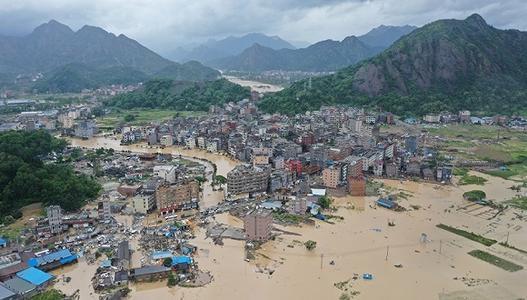 """应急管理部:台风""""玲玲""""已造成3省45.5万人受灾"""