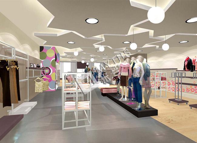 展厅商业空间设计-玖姿展厅