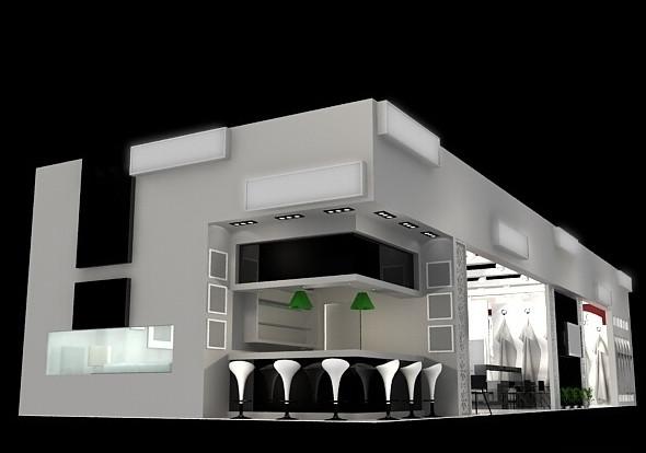 西安展台搭建设计