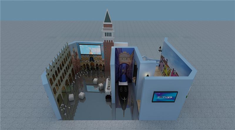 西安展厅设计图