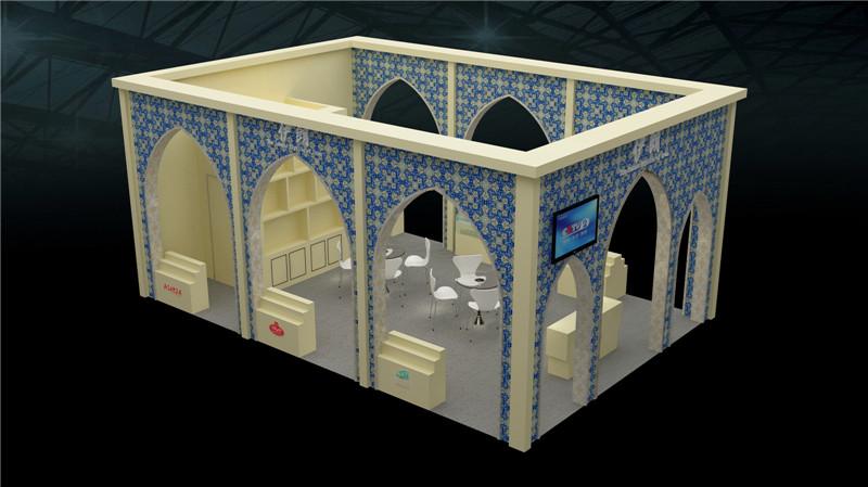 伊朗展厅设计