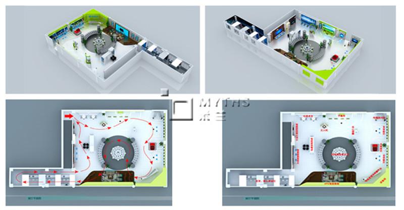 中国电信西安天意广场展厅