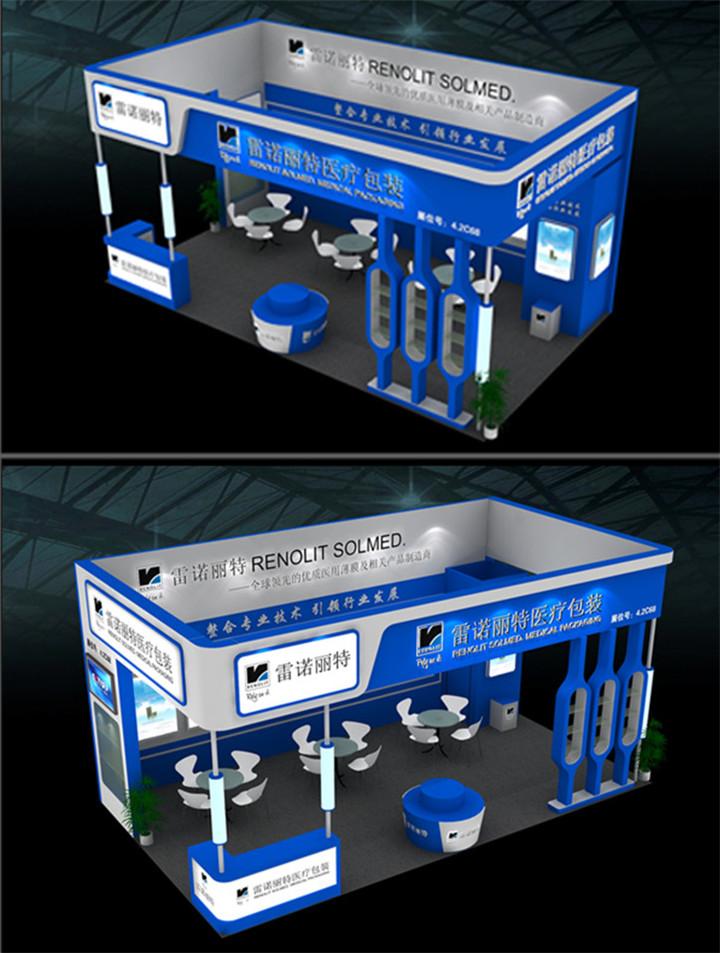 西安展台设计搭建的视觉尺寸的重要性分析!