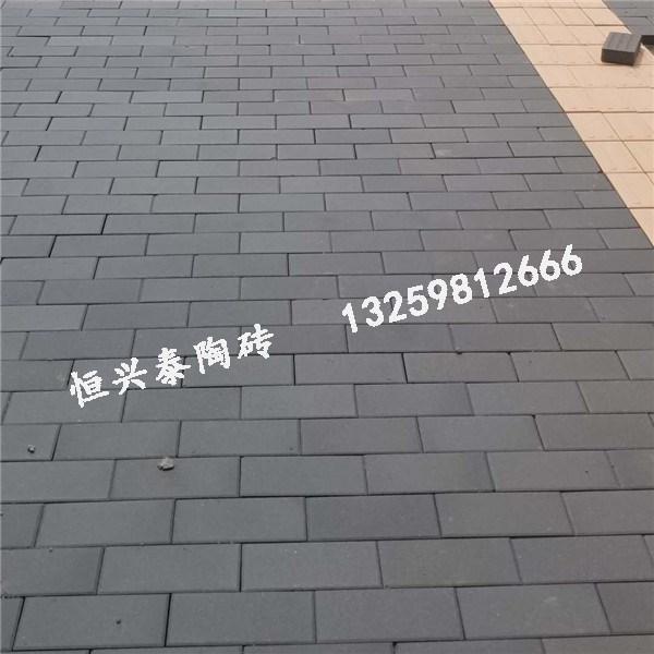 陕西青灰色实芯陶砖