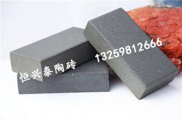 宁夏青灰色实芯陶砖