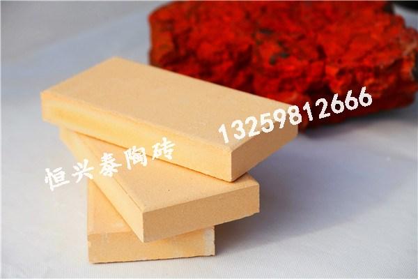 宁夏黄色实芯陶砖