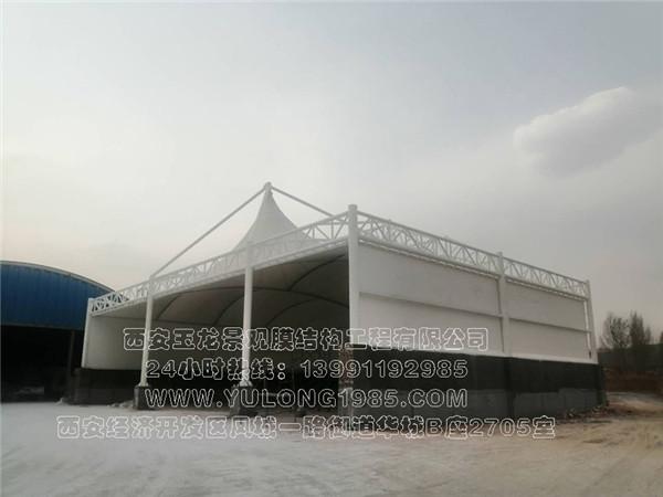 中盐榆林盐化有限公司芒硝堆罩棚膜结构工程