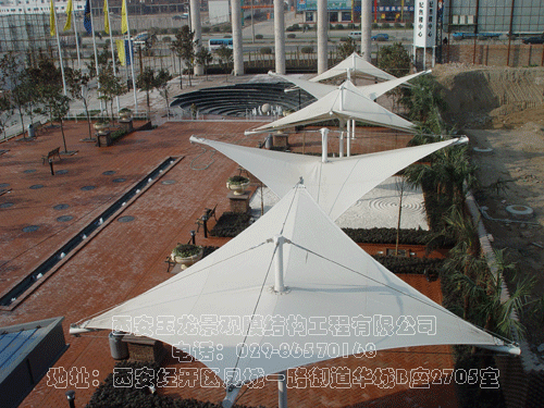 锦园新世纪膜结构工程