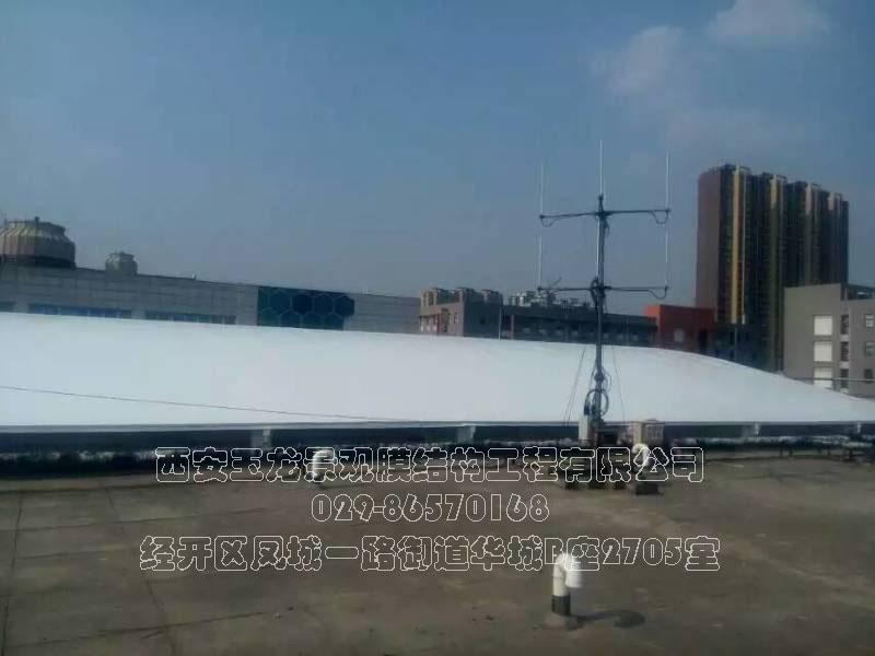 西安博航屋顶膜结构工程