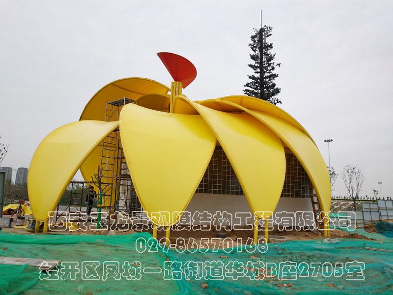 花瓣景观膜结构工程